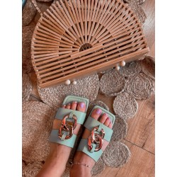 sandalo doppia catena